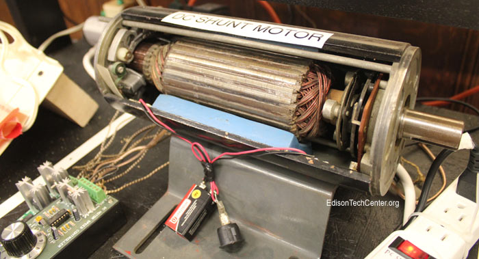 DCshuntMotor700 the electric motor edison tech center  at reclaimingppi.co