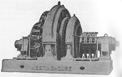 first electric generator. A Later Westinghouse 2000 KW 270 Volt Generator From After 1900 First Electric 2