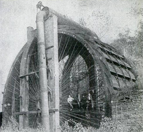 how to make water wheel without wood