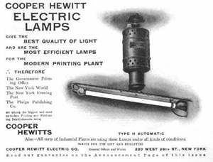 An Early Mercury Vapor Lamp One Would Tip The Light To Get It Start These Low Pressure Lamps Used A Lot Of Todays Use Tiny