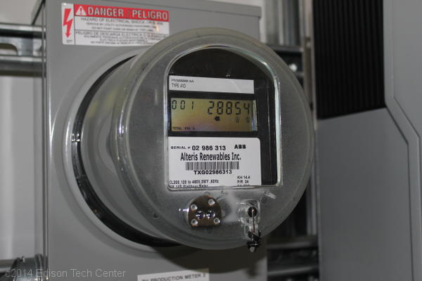 Increasing Electricity Meter : Electric meters