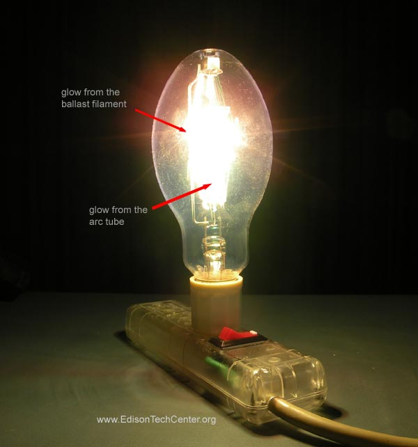 The Mercury Vapor Lamp How It Works Amp History