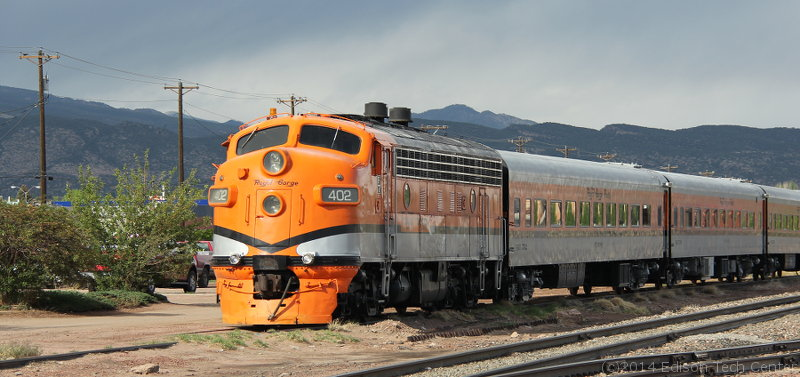 Diesel Electric Locomotives